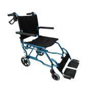 Αναπηρικό Αμαξίδιο Μεταφοράς Αλουμινίου με τσάντα