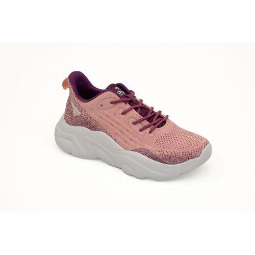 Ανατομικό Αθλητικό Γυναικείο Παπούτσι Ροζ - Με Memory Foam