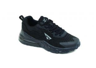 Ανατομικό Αθλητικό Γυναικείο Παπούτσι Μαύρο | Με Memory Foam - Αερόσολα
