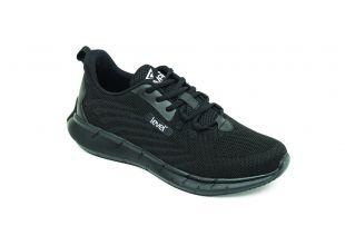 Ανατομικό Αθλητικό Ανδρικό Παπούτσι Μαύρο- Με Memory Foam